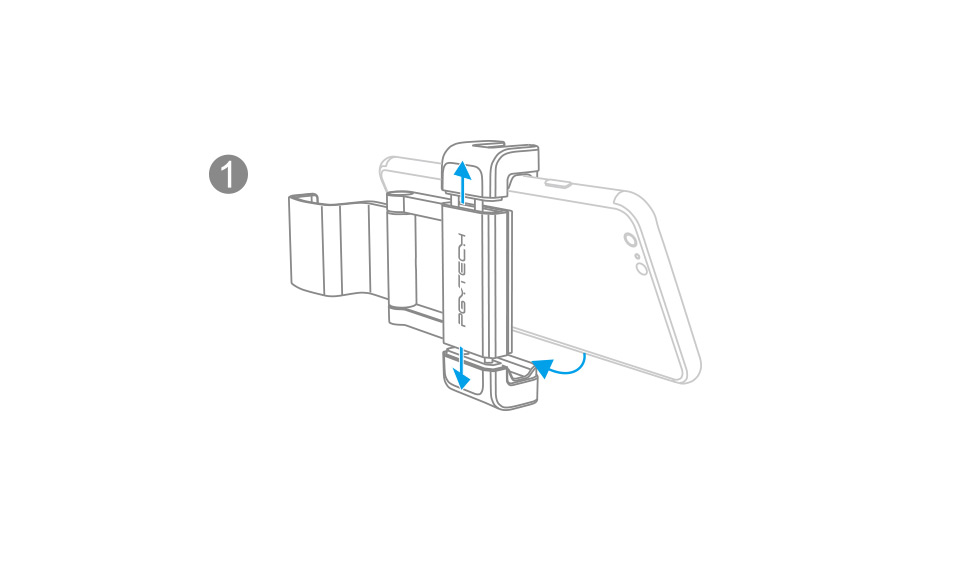 OSMO-POCKET-手机固定支架plus+安装说明
