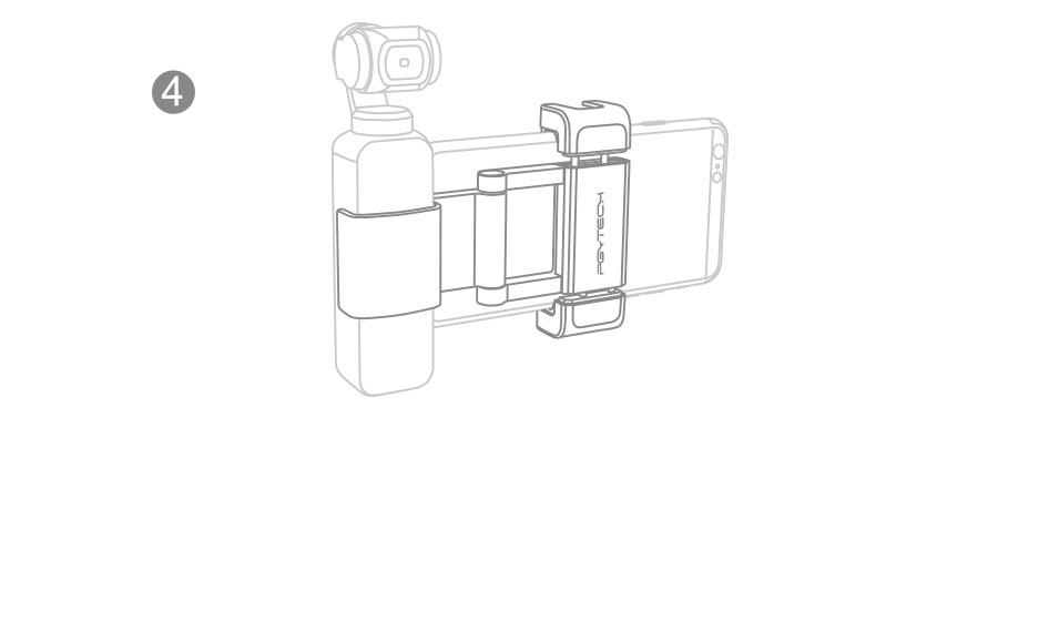 OSMO-POCKET-手机固定支架plus+安装说明功能解析