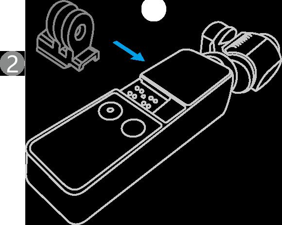 OSMO-POCKET-数据口转通用接口-安装说明-第二步