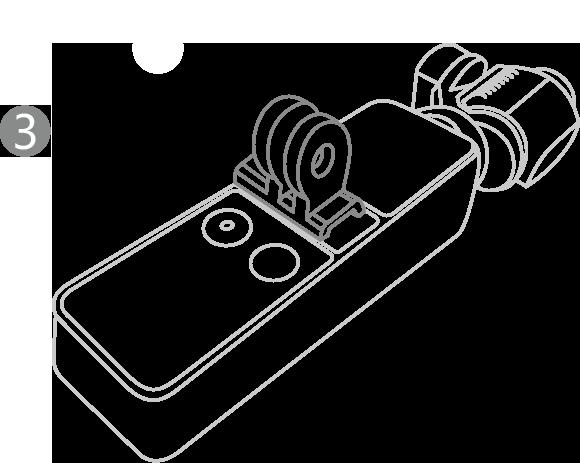 OSMO-POCKET-数据口转通用接口-安装说明-第三步